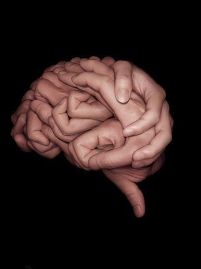 The Brain is a series of interlocking fists