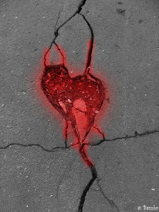 MY HEART Cracked concrete Heart_by_Bambr