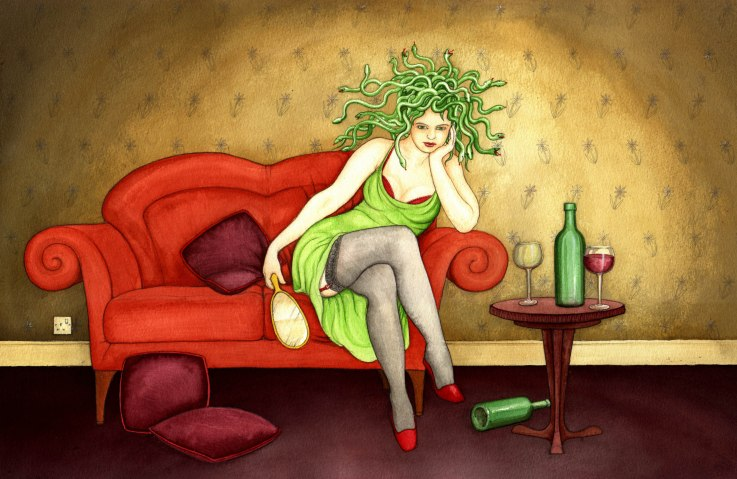 Love is an Angel.medusa-on-the-sofa_for-Evan copy